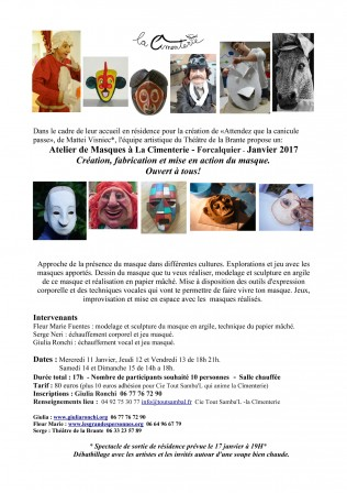 flyer_atelier masque