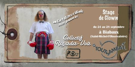 Stage Clown avec Jean-Christain Guibert