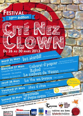 Affiche Cité Nez Clown #10